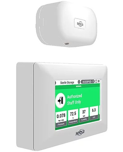 Improve Operational and Staff Efficiency: Easily Upgrade Your Old Room Pressure Monitors