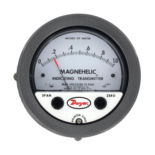 605 Magnehelic Differential Pressure Indicating TransmitterAlpha Controls & Instrumentation Inc.