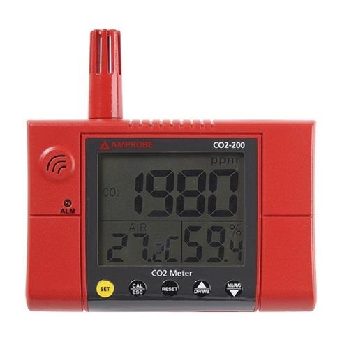 CO2-200 Wall-Mounted CO2 MeterAlpha Controls & Instrumentation Inc.