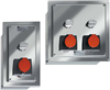 CRP 8125/5 Series Clean Room Receptacle Panels