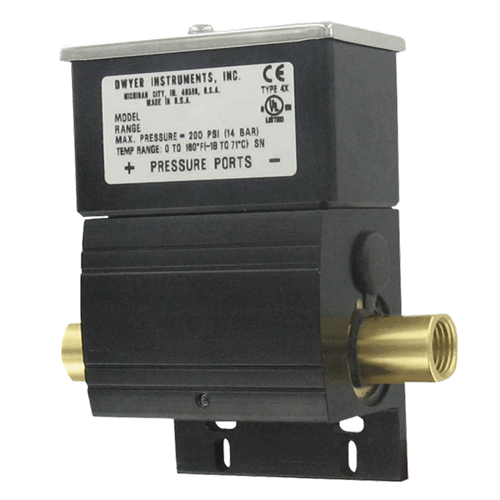 DX Wet/Wet Differential Pressure SwitchAlpha Controls & Instrumentation Inc.