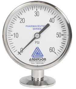 EM Series Pressure GaugeAlpha Controls & Instrumentation Inc.
