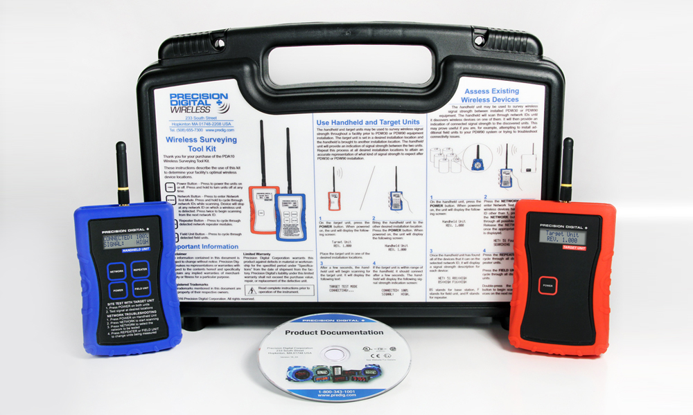 PDA10 Wireless Survey ToolkitAlpha Controls & Instrumentation Inc.