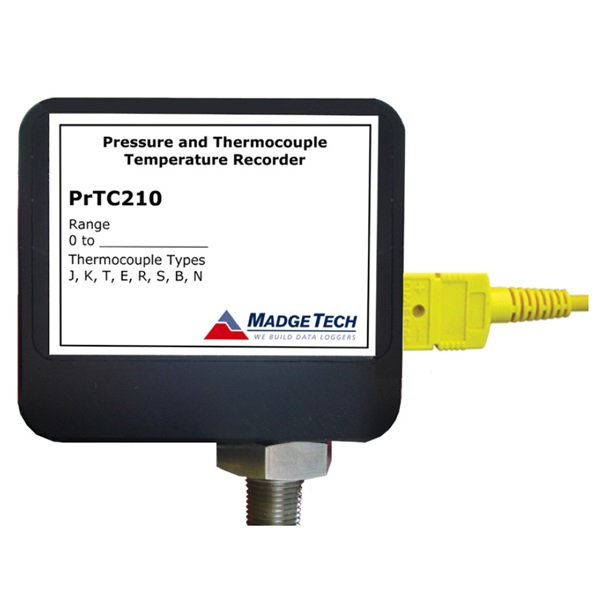 PRTC210 Thermocouple Temperature and Pressure Data LoggerAlpha Controls & Instrumentation Inc.